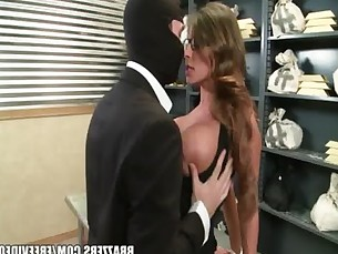 Madison Ivy&#039_s perfect ass gets split by her boss&#039_s cock